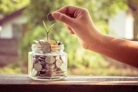 Putting- Money- in- jar