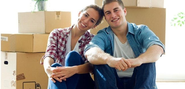 Couple in new fixed home