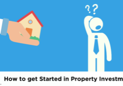 Animated Image of a Person Questioning how to get started in Property Investment