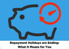 repayment holidays ending banner